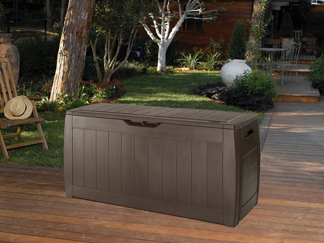 Cassapanca In Legno Da Giardino.Baule Cassapanca Marrone Hollywood Lgv Shopping