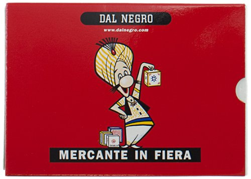 CARTE DA GIOCO Dal Negro MERCANTE IN FIERA Plastificate.
