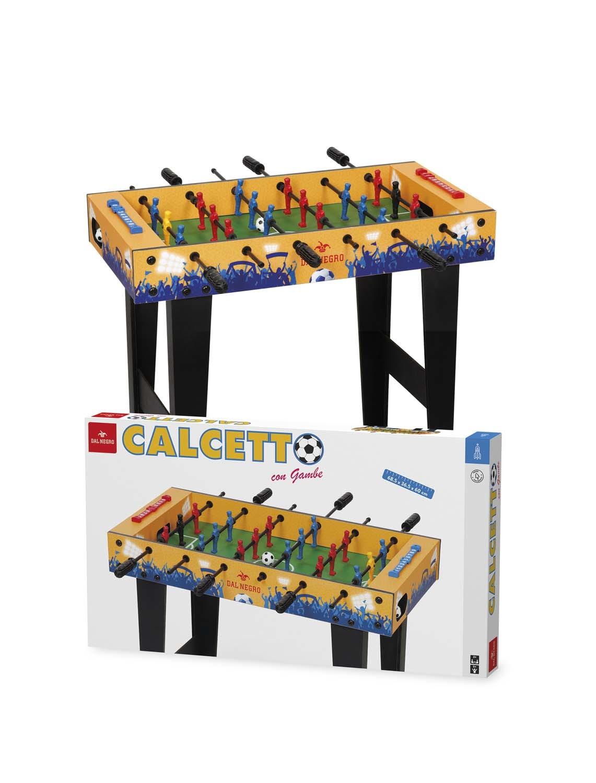 Calcetto calcio balilla biliardino con gambe lgv shopping - Calcio balilla da tavolo ...