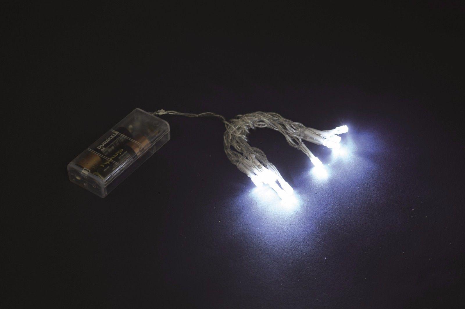 Mini lucciole led a batteria bianco mt minilucciole lgv shopping