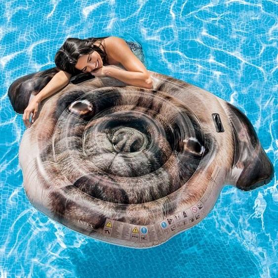 Materassini Per Mare.Intex Piscina Gonfiabile A Forma Di Balena Con Spruzzo Per