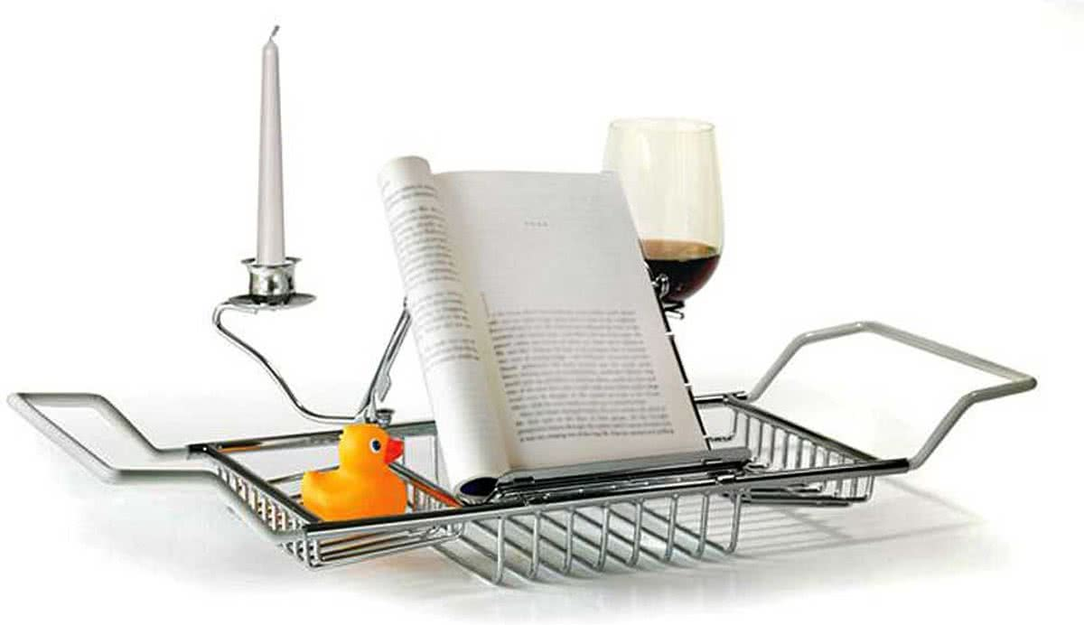 Mensola supporto in metallo per vasca da bagno lgv shopping - Supporto per vasca da bagno ...