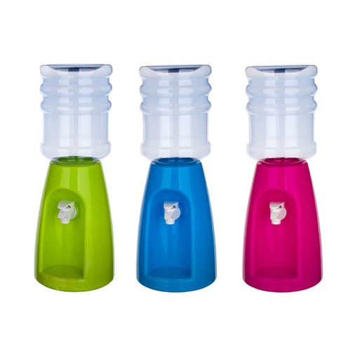 Distributore Bevande Dispenser Acqua Bibite 2,3 LT Con Stickers Animali .