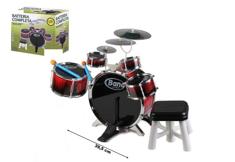Batteria musicale tamburi piatti lgv shopping