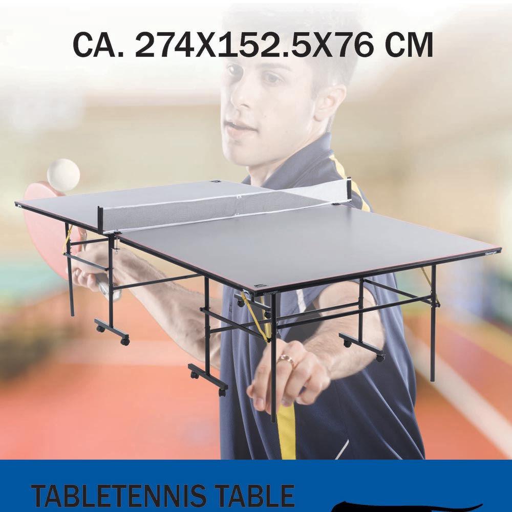 Tavolo ping pong regolare pieghevole lgv shopping - Costruire tavolo ping pong pieghevole ...