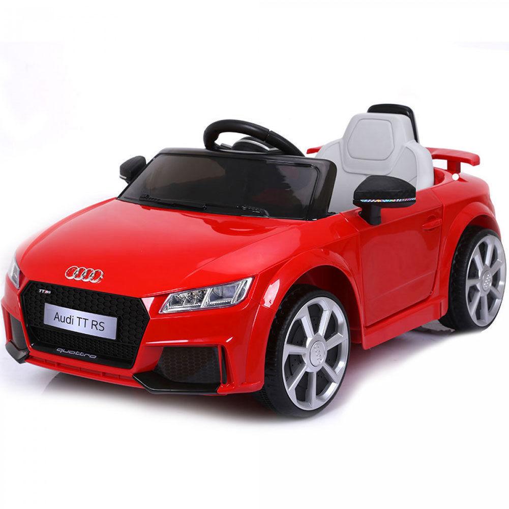 Auto Macchina Elettrica Audi TT RS Rossa 6V Per Bambini