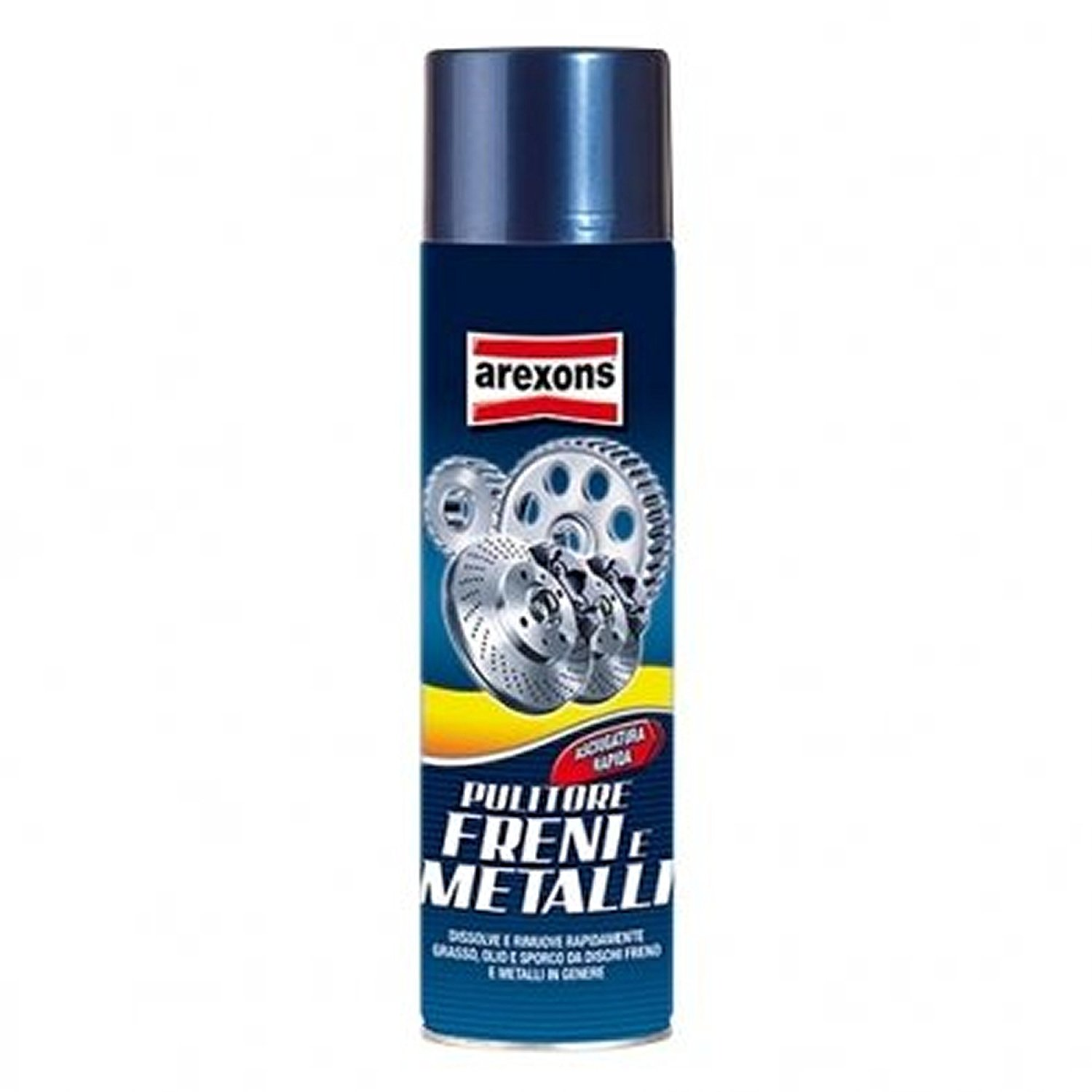 Pulitore Freni e Metalli Arexons 8163 500ML Spray Per Pulizia Freni a Disco.