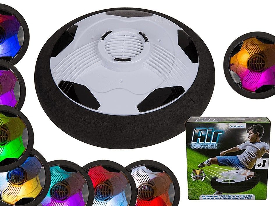 Disco in Plastica ad Aria  a Forma di Palla Per Air Hockey e Air Bowling 3 Led.