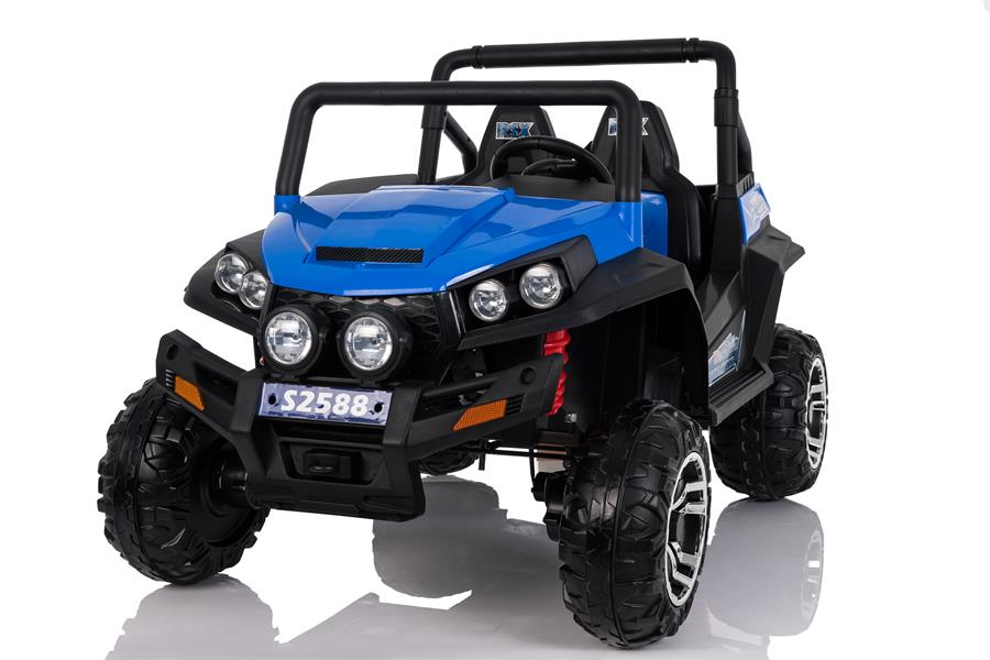 Auto Jeep Polar 24 Volt Full Optional 2 Posti Elettrica Per Bambini Blu New 2018.