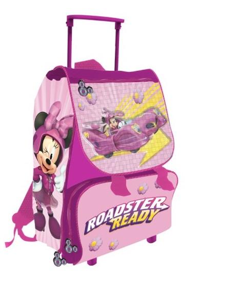 3271873232 Zaino Trolley Per La Scuola Estensibile 40 CM Disney Minni Minnie  Elementari. Tap per ingrandire