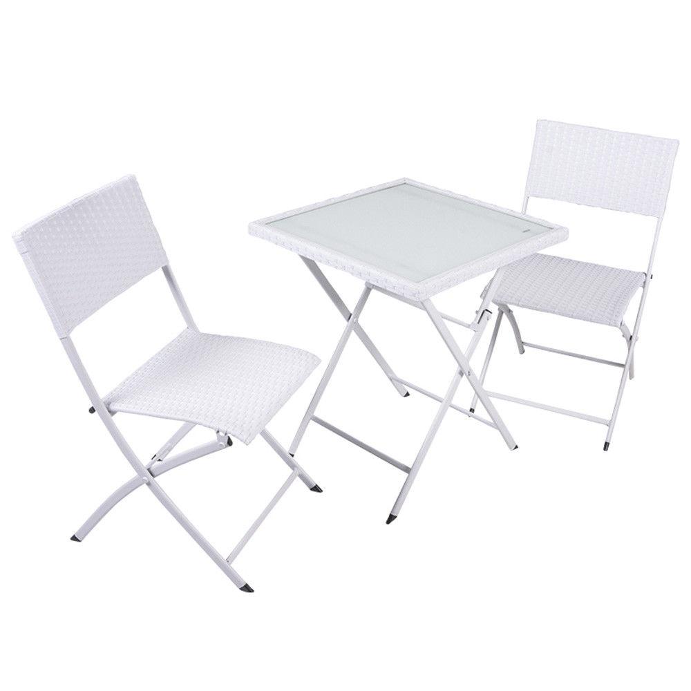 Set Tavolo E Sedie Da Giardino Enrico Coveri.Set Da Giardino Coveri Wiker 3pz Set Tavolo 60cm 2 Sedie Lgv Shopping