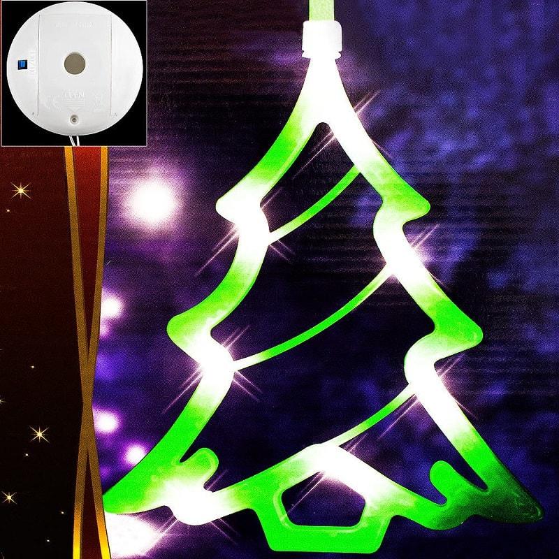 Decorazioni Natalizie A Led.Decorazione Di Natale Natalizia Con 8 Led Lgv Shopping