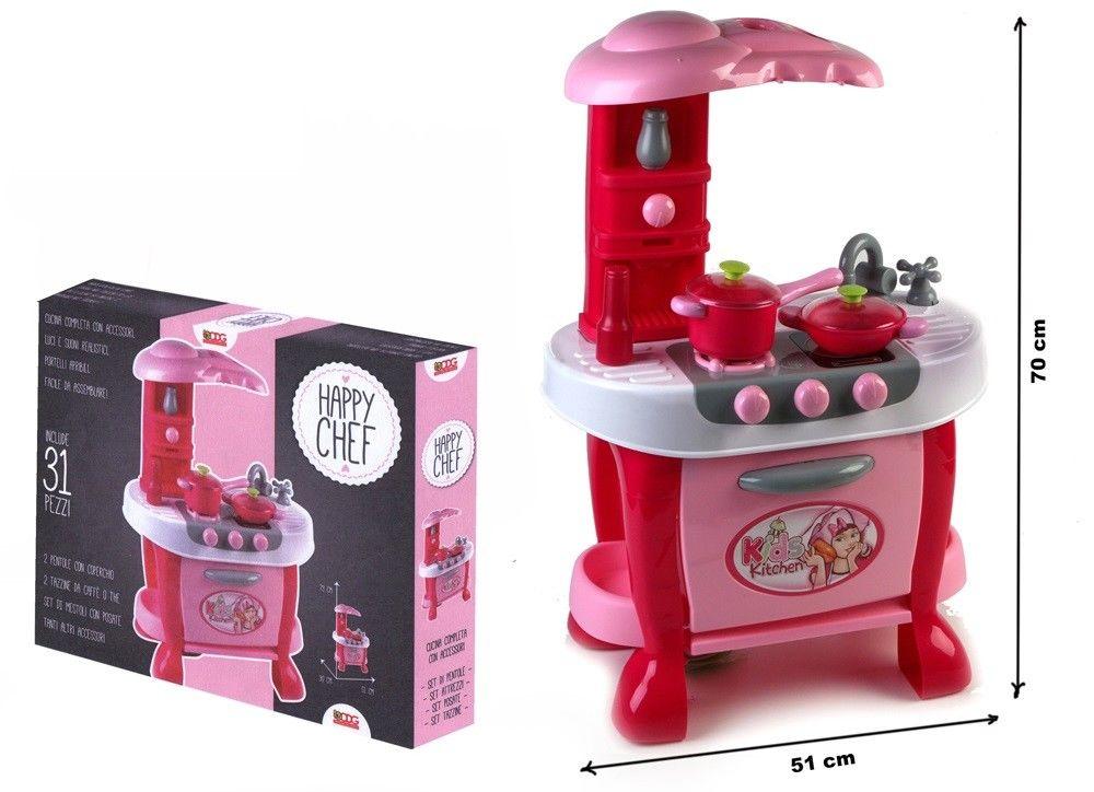 Cucina Giocattolo Per Bambine Con Accessori | LGV Shopping
