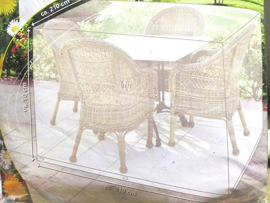 Copertura Tavolo Da Giardino.Telo Di Copertura Mobili Da Giardino 210 X 210 X 90 Lgv Shopping