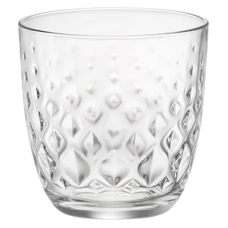 Rocco Bormioli Set 6Pz Bicchieri Acqua Glit Cl 30 Vetro Bar Casa Vino New Casa