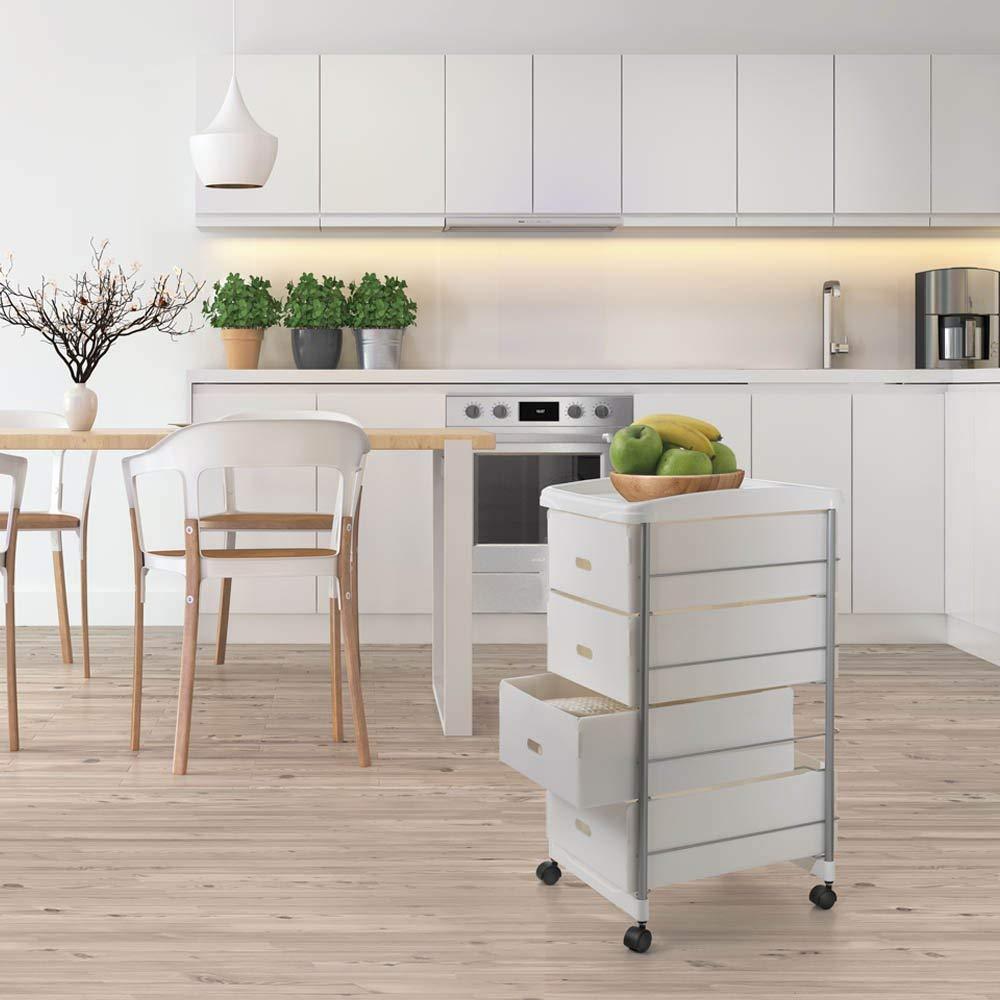 Scaffaletto Carrello Cassettiera da Cucina | LGV Shopping