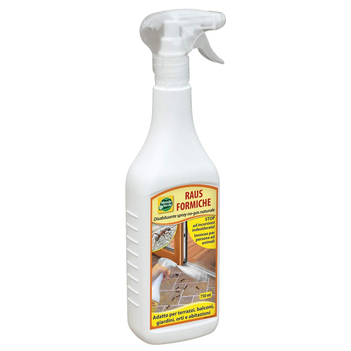 Spray da 750 ML Disabituante Repellente Naturale Anti Formiche Casa Giardino.