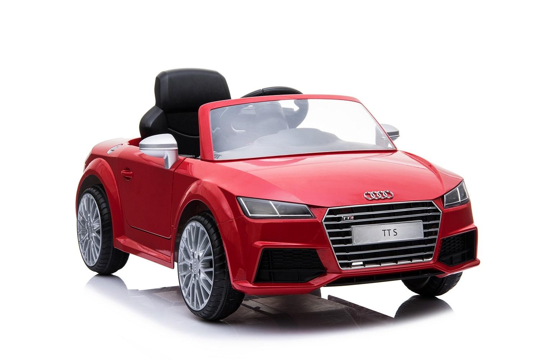 Auto Macchina Elettrica Audi TT RS Blu 12V Per Bambini Con Telecomando e Mp3