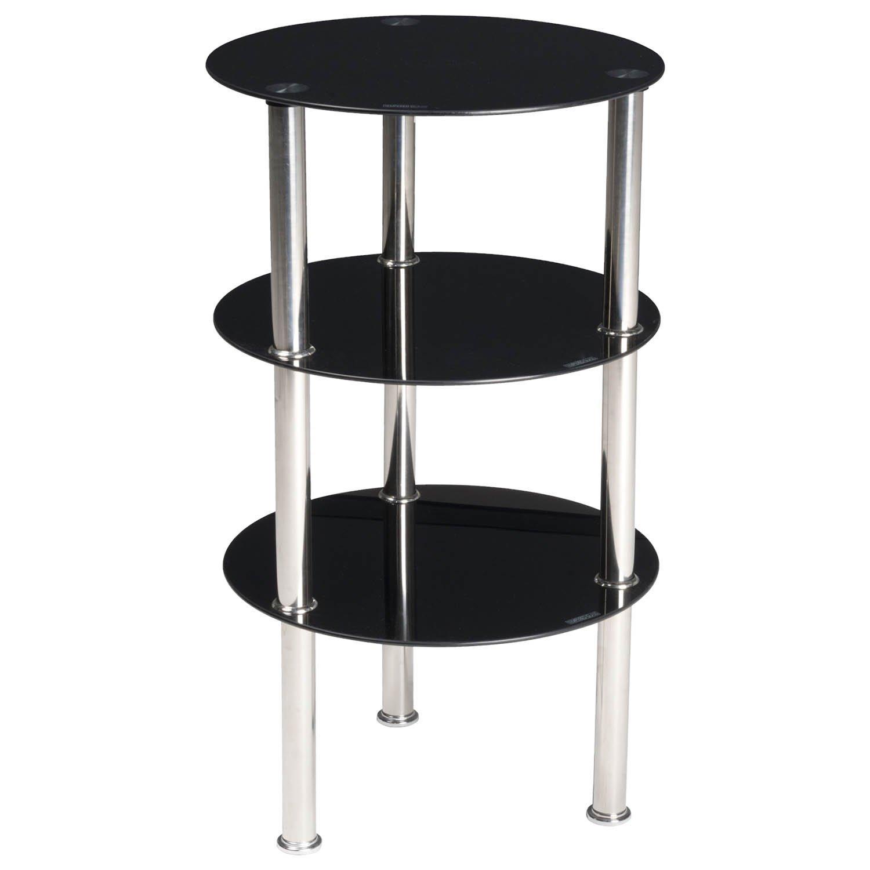 Ripiano In Vetro Per Tavolo.Tavolo Tavolini 3 Ripiani Da Per Arredamento Lgv Shopping