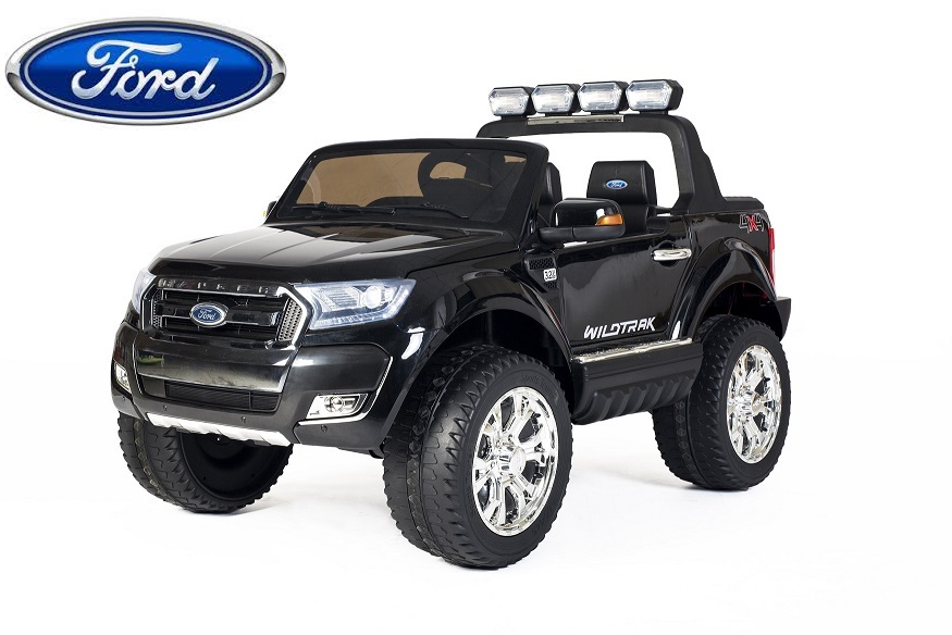Auto Elettrica Jeep SUV Ford Ranger Luxury 12V Nero Full Optional .