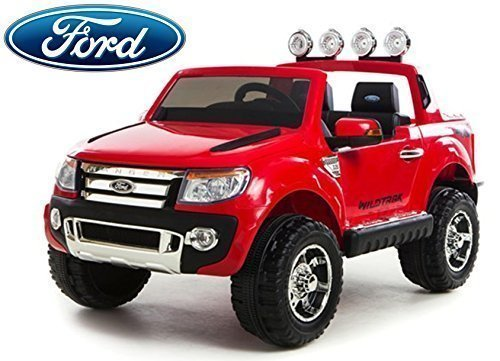 Auto Elettrica Jeep SUV Ford Ranger Luxury 12V Rosso Full Optional .