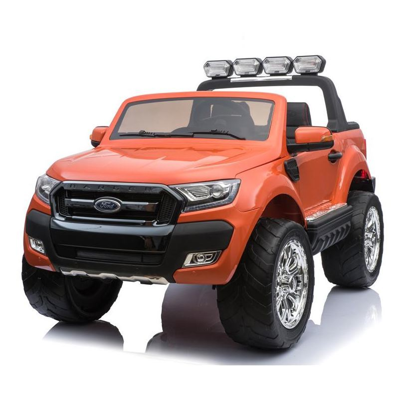 Auto Elettrica Jeep SUV Ford Ranger Luxury 12V Arancione Full Optional .