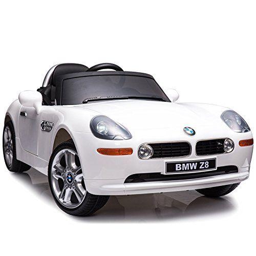 212c446459 Macchina Auto Elettrica per Bambini BMW Z8 con Telecomando Mp3 e Led Bianca.  Tap per ingrandire