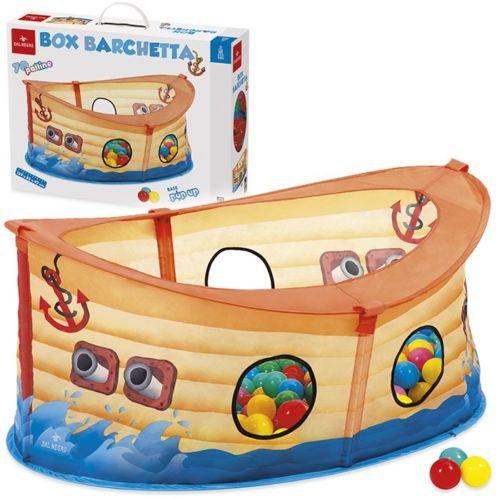 e0b989347470 Box a Forma Di Barca Dei Pirati Con 70 Palline Colorate | LGV Shopping