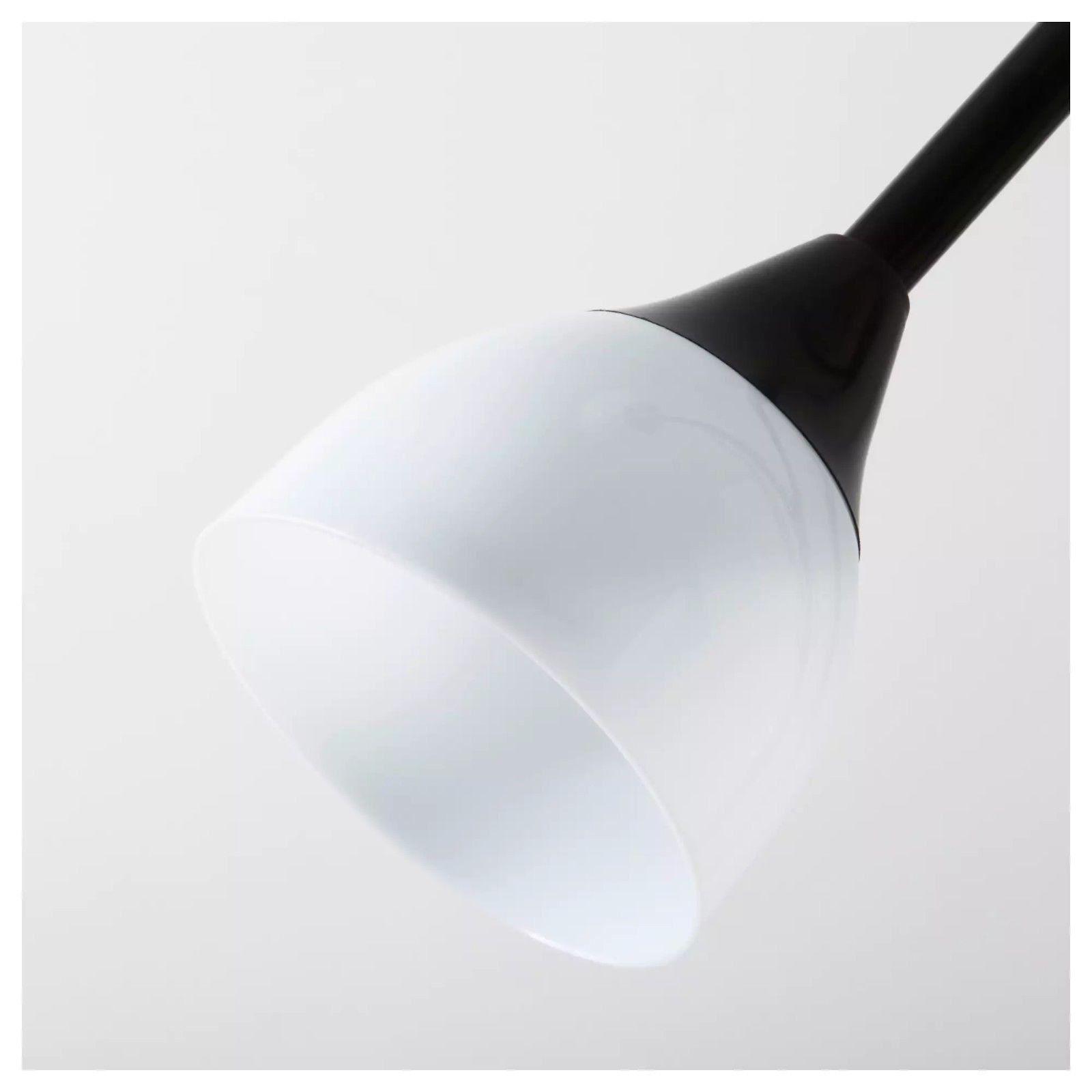 Lampada piantana da terra 176 cm ikea not nero lgv shopping for Lampada piantana ikea