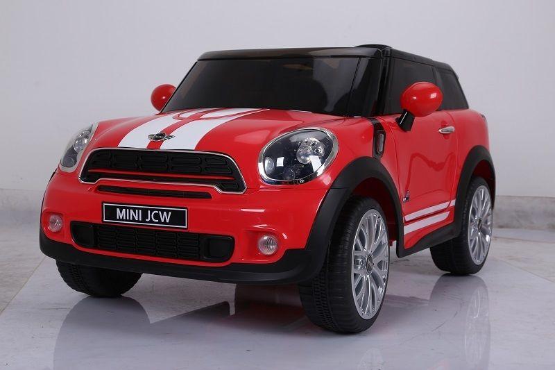 Auto Elettrica Mini Paceman Rossa 12v Lgv Shopping