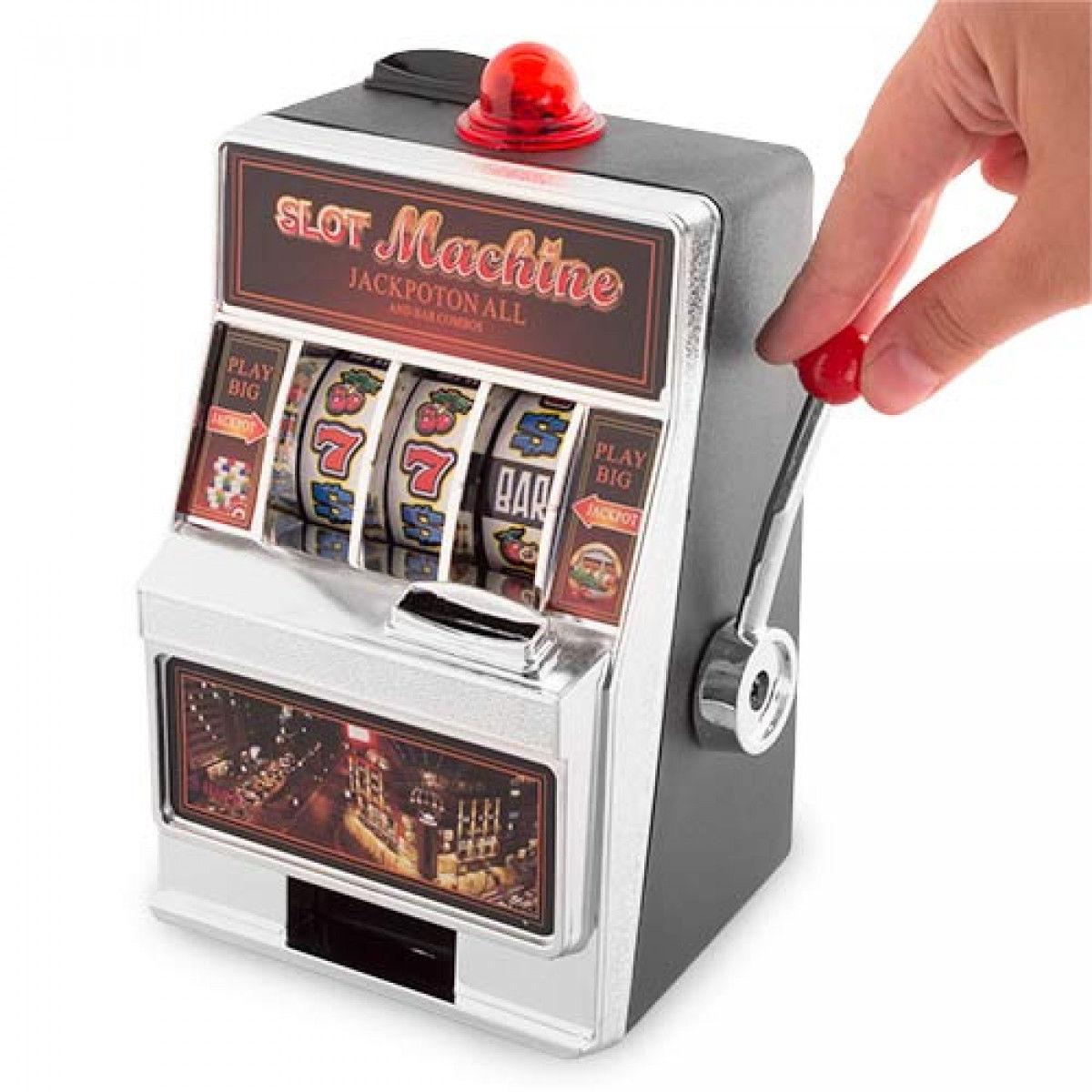 Salvadanaio slot machine