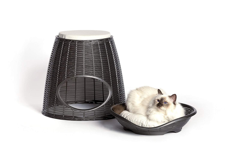 Cuccia Gatto Fai Da Te bama cuccia per animali cane e gatti antracite | lgv shopping