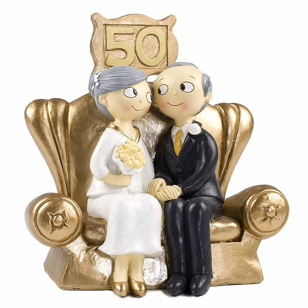 50esimo Anniversario Matrimonio.Cake Topper Centrotorta Matrimonio 50 Anni Lgv Shopping